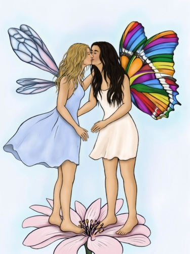 The Fairy and her Julia