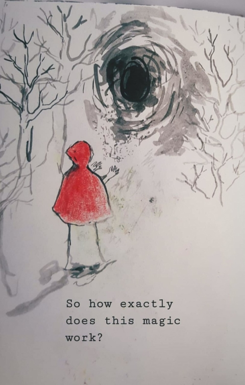 Girl in the Red Cape and the Magic Tunnel