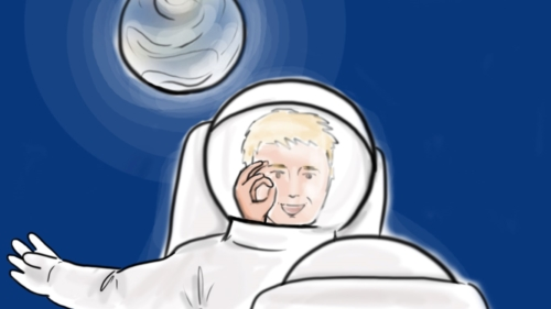 Astronaut Closeup