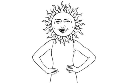 Selfconfident Sun
